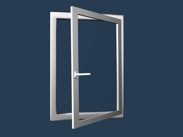 Eforte műanyag nyíló-bukó ablak fotó