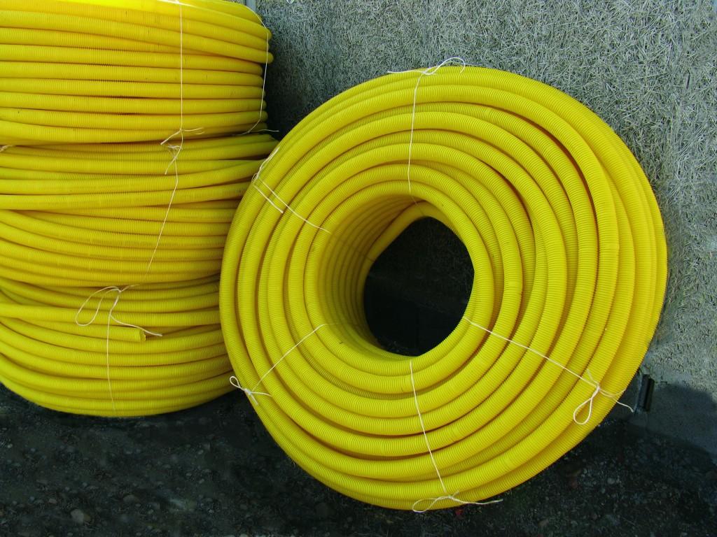 Terraplast Drain-Ac flexibilis műanyag cső fotó