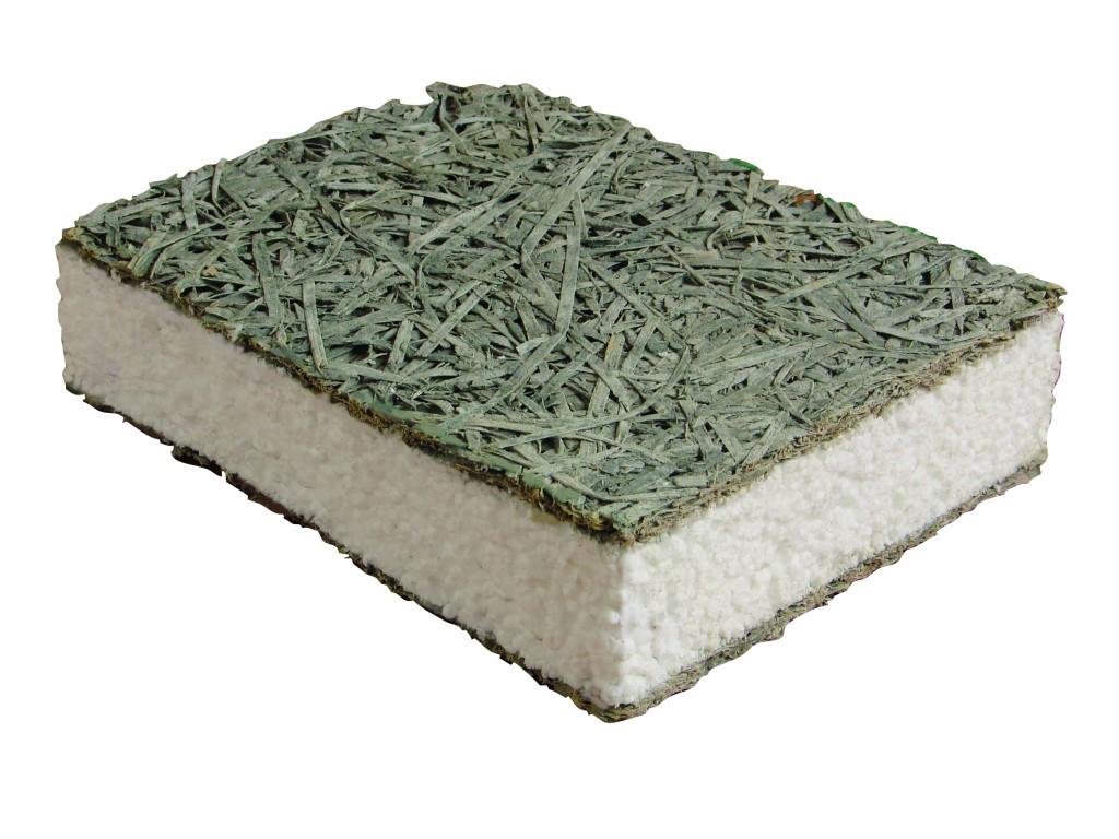 Woodwool EPS cementkötésű fagyapot tábla fotó